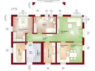 CELEBRATION 211 V3 von Bien-Zenker Grundriss 1