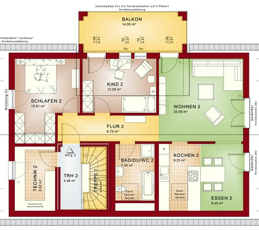 Bien Zenker - CELEBRATION 211 V3 Floorplan 2