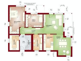 CELEBRATION 211 V4 von Bien-Zenker Grundriss 1