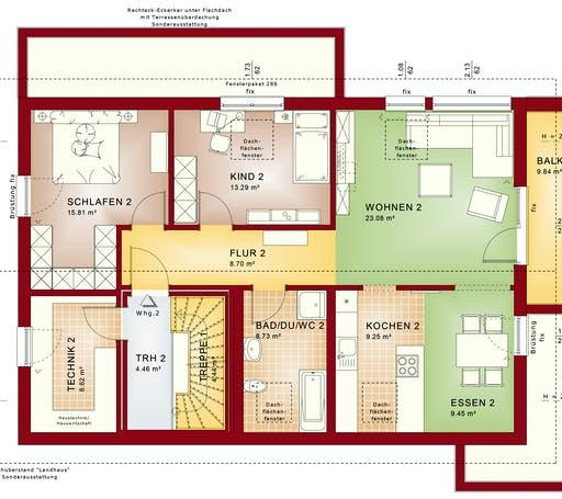 Bien Zenker - CELEBRATION 211 V4 Floorplan 2