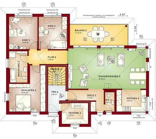 Bien Zenker - CELEBRATION 282 V2 Floorplan 2