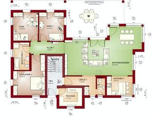 CELEBRATION 282 V4 von Bien-Zenker Grundriss 1