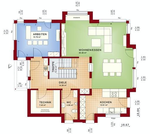 Bien Zenker ConceptM 163 Floorplan 1