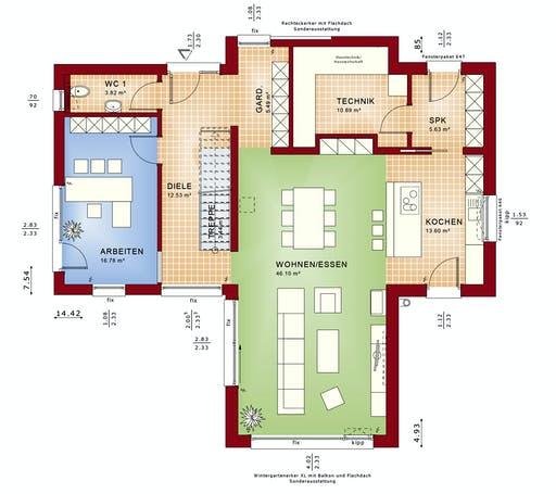Bien Zenker - Concept-M 170 VS Floorplan 1