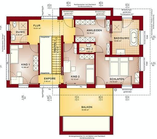 Bien Zenker - Concept-M 170 VS Floorplan 2