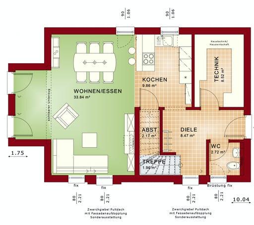 Bien Zenker - EDITION 120 V2 Floorplan 1