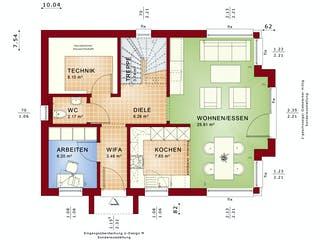 EDITION 123 V2 von Bien-Zenker Grundriss 1