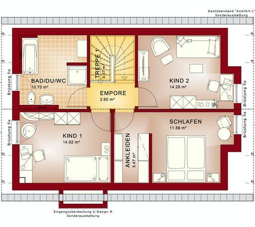 Bien Zenker - EDITION 123 V2 Exterior floorplan 2