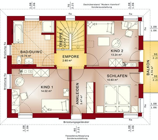 Bien Zenker - EDITION 123 V5 Interior floorplan 2