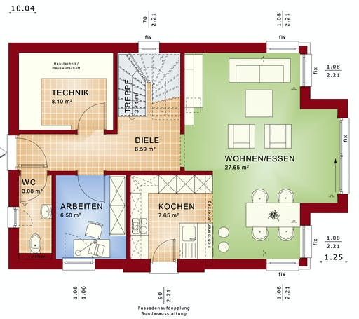 Bien Zenker - EDITION 123 V5 Interior floorplan 1