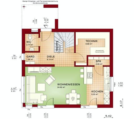 Bien Zenker - EDITION 125 V4 floorplan 1