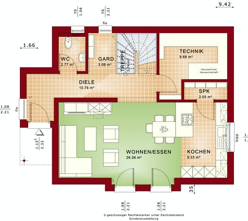 Bien Zenker - EDITION 125 V5 floorplan 1