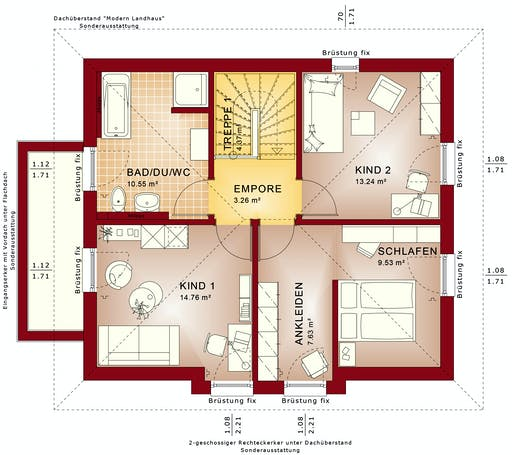 Bien Zenker - EDITION 125 V5 floorplan 2