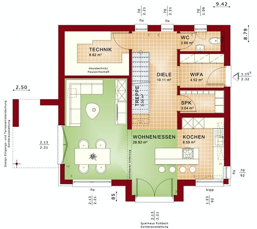 Bien Zenker - EDITION 134 V2 floorplan 1