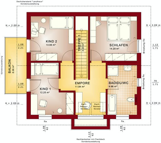 Bien Zenker - EDITION 134 V4 floorplan 2