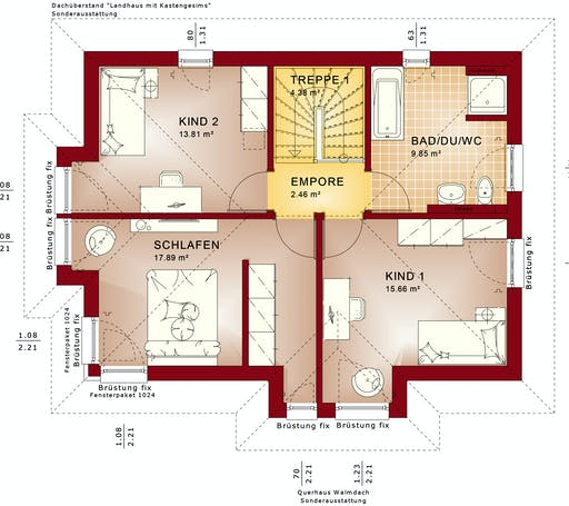 Bien Zenker - Evolution 122 V9 Floorplan 2
