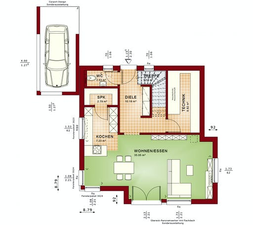 Bien Zenker - Evolution 124 V4 Floorplan 1