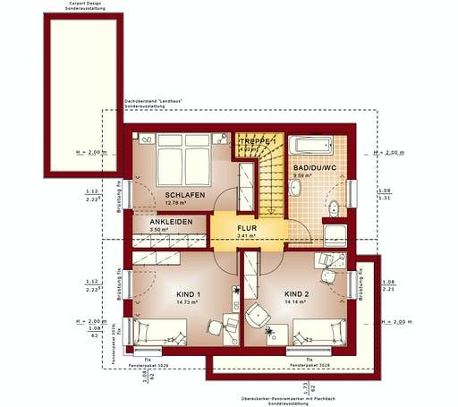 Bien Zenker - Evolution 124 V4 Floorplan 2