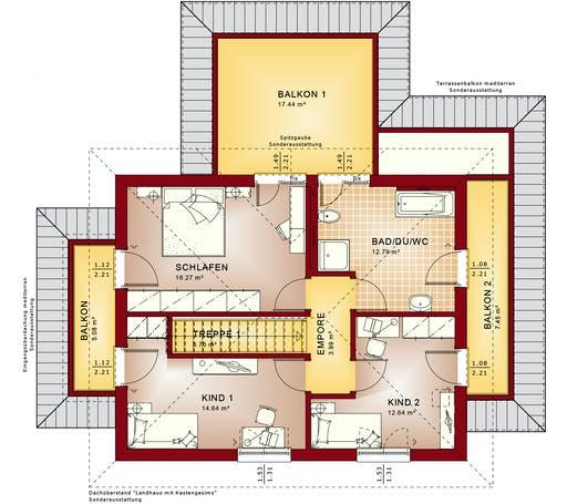 Bien Zenker - Evolution 134 V7 Floorplan 2