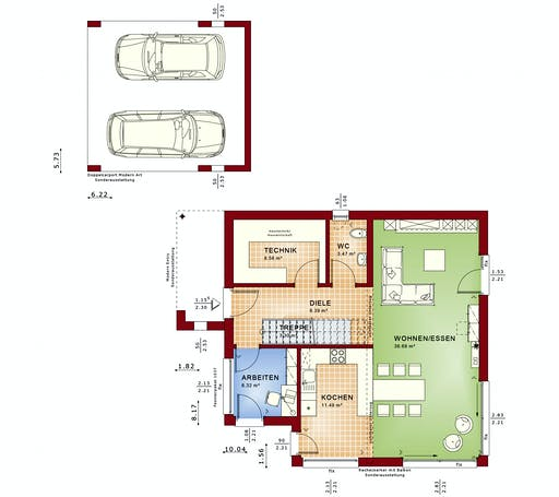Bien Zenker - Evolution 134 V8 Floorplan 1