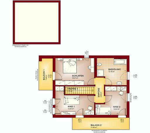 Bien Zenker - Evolution 134 V8 Floorplan 2