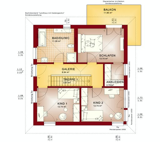 Bien Zenker - Evolution 136 V7 Floorplan 2