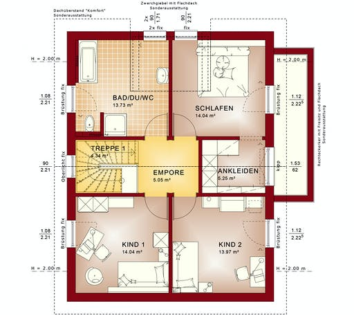 Bien Zenker - Evolution 139 V5 Floorplan 2