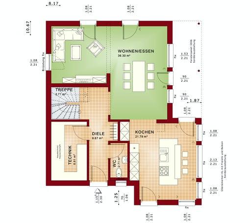 Bien Zenker - Evolution 139 V9 Floorplan 1