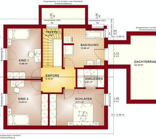 Bien Zenker - Evolution 143 V6 Floorplan 2