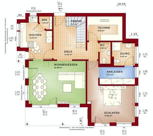 Bien Zenker - Evolution 152 V10 Floorplan 1