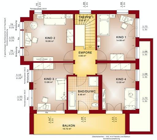 Bien Zenker - Evolution 152 V10 Floorplan 2