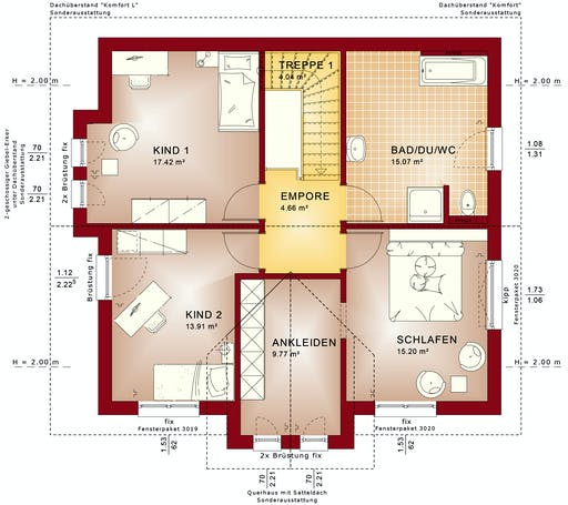 Bien Zenker - Evolution 152 V6 Floorplan 2