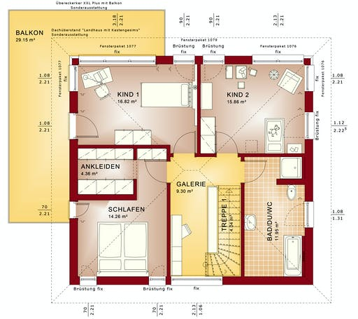 Bien Zenker - Evolution 154 V8 Floorplan 2