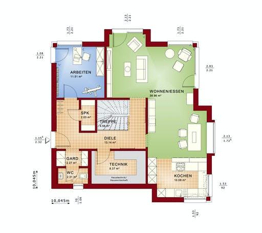 Bien Zenker - Evolution 161 V2 Floorplan 5