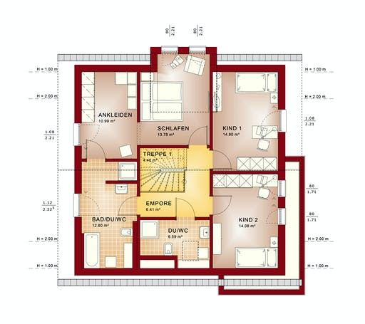 Bien Zenker - Evolution 161 V2 Floorplan 6