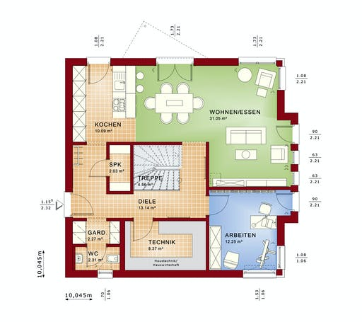 Bien Zenker - Evolution 161 V3 Floorplan 5