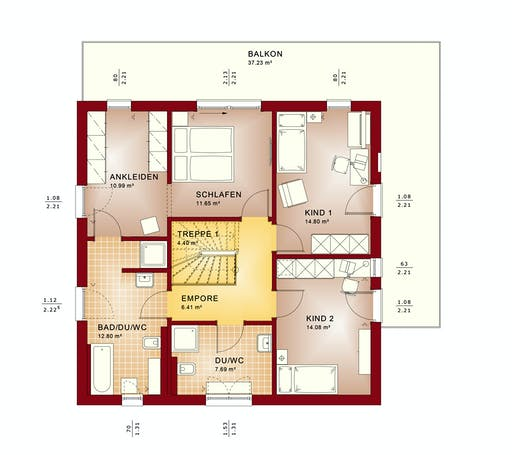 Bien Zenker - Evolution 161 V5 Floorplan 6