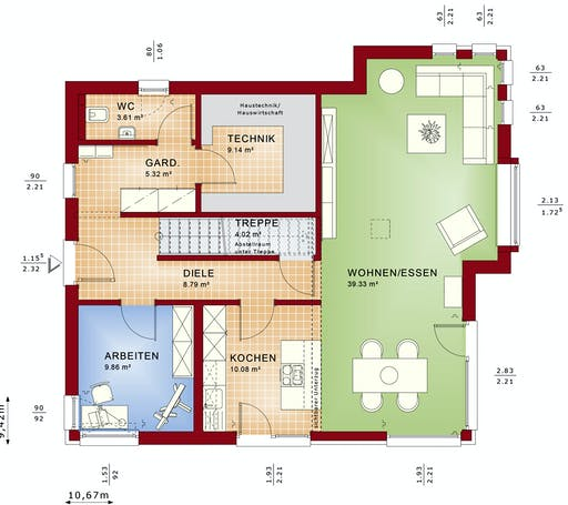 Bien Zenker - Evolution 162 V2 Floorplan 5