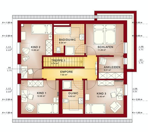 Bien Zenker - Evolution 162 V2 Floorplan 6