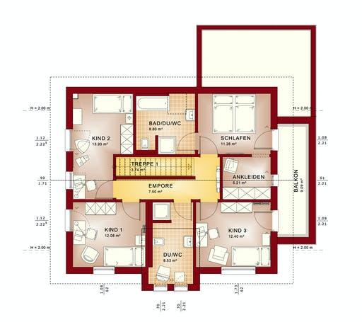 Bien Zenker - Evolution 162 V4 Floorplan 6