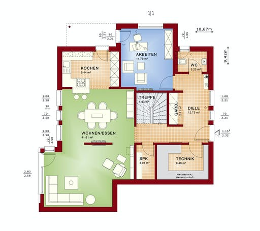 Bien Zenker - Evolution 163 V2 Floorplan 5