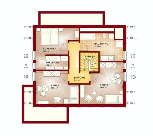 Bien Zenker - Evolution 163 V2 Floorplan 6