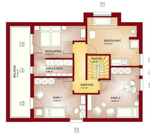 Bien Zenker - Evolution 163 V5 Floorplan 6