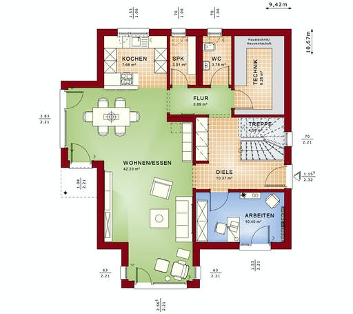 Bien Zenker - Evolution 164 V3 Floorplan 5