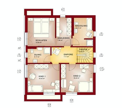 Bien Zenker - Evolution 164 V5 Floorplan 6