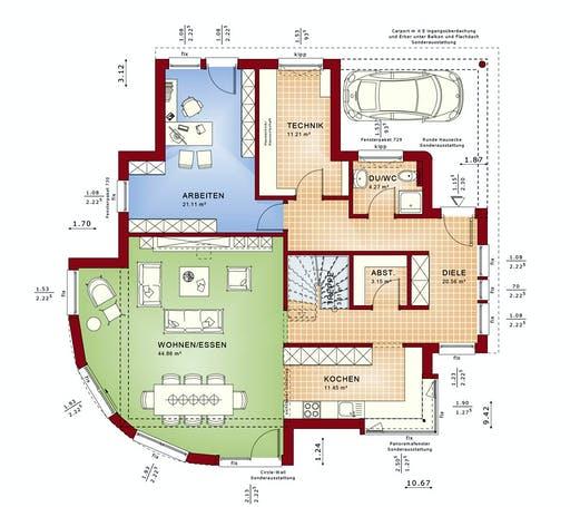 Bien Zenker - Fantastic 163 V6 Floorplan 1