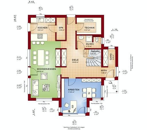 Bien Zenker - Fantastic 165 V4 Floorplan 1