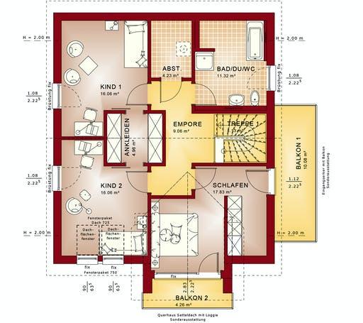 Bien Zenker - Fantastic 165 V4 Floorplan 2