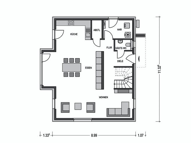 Calvus SD 200.2 Floorplan 1