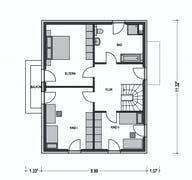 Calvus 632 Grundriss